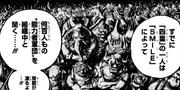 Ein Blick von Kaidos Zoan-Armee