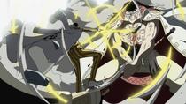 Kizaru attacks Whitebeard