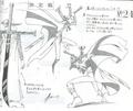 Bocetos de la Yoru