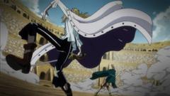 Hakuba ataca a Rebecca
