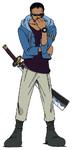 Johnny Anime Concept Art