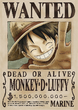 Monkey D. Luffy's Current Wanted Poster