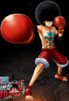 One Piece Burning Blood Afro Luffy (Artwork)