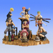 Super Modeling Soul Straw Hat Pirates and Ace