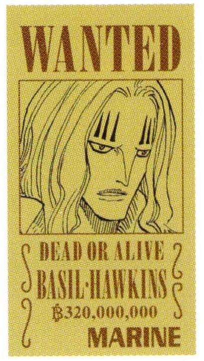 Basil Hawkins taglia