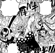 Big Mom endommageant le Sunny