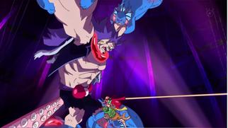 Luffy y el Kung-Fu Dugong derrotan a Breed