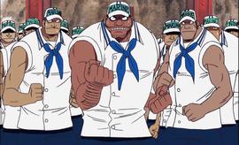 Marines del Viento Ardiente Anime Infobox