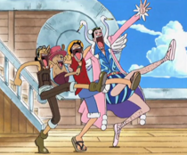 Mr. 2 Dancing With Straw Hats