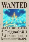 Originalnii Wanted Poster
