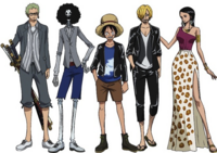 Straw Hat Pirates In Armani Clothing