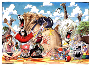 One Piece Color Walk 3 Lion