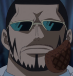 Vergo With Hamburger on Face