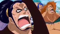 Ideo Shocked By Luffy's Power