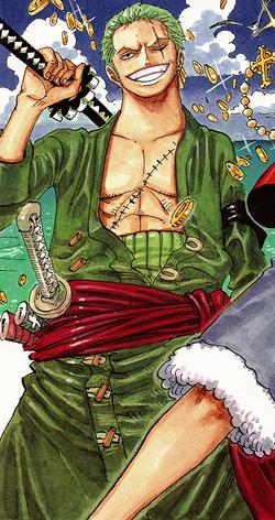 Roronoa Zoro Manga Post Ellipse Infobox