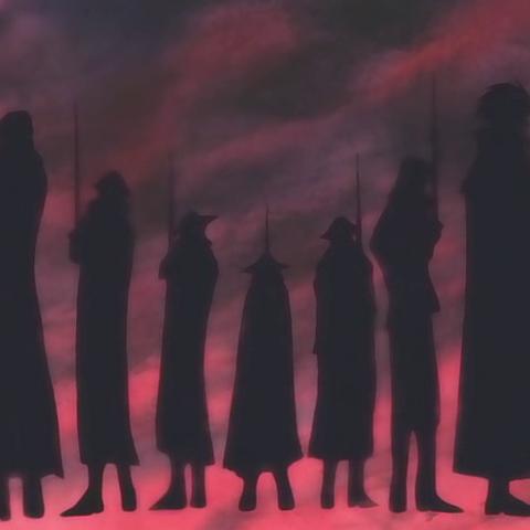 I profili dei membri dell'organizzazione nella descrizione di Yosaku