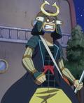 Vestimenta de samurái de Usopp