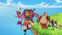 Équipage Apoo Nouveau Monde Anime
