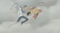 Luffy Contra Coby