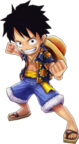 Luffy Dressrosa Thousand Storm