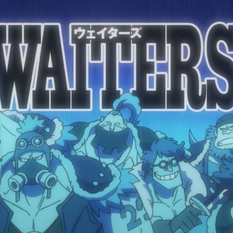 Waiters portrait