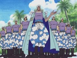 Bérets Blancs Anime Infobox