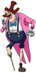 Donald Moderate Anime Concept Art