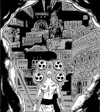 Enel contemplando las ruinas de Birka
