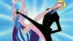 Mr. Two contro Sanji