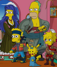 The Simpsons Anime Incarnations
