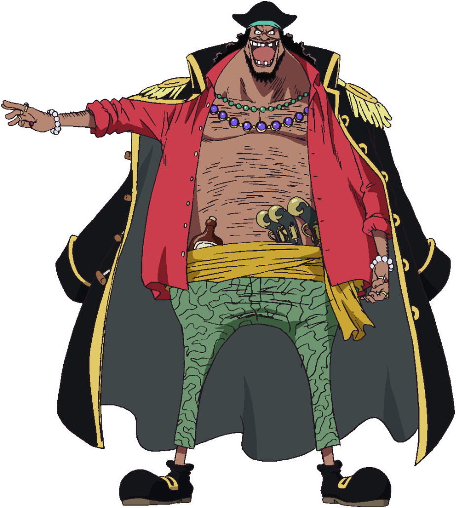 Blackbeard Anime Concept Art