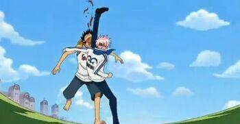 Monkey D. Luffy vs. Coby (Water Seven)