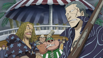 Red Hair Pirates Watch Shanks Clash with Whitebeard