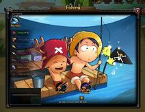 One Piece 2 Pirate King fishing