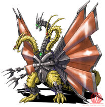 Armor dragon form