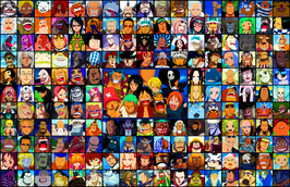 All One Piece Characters V1