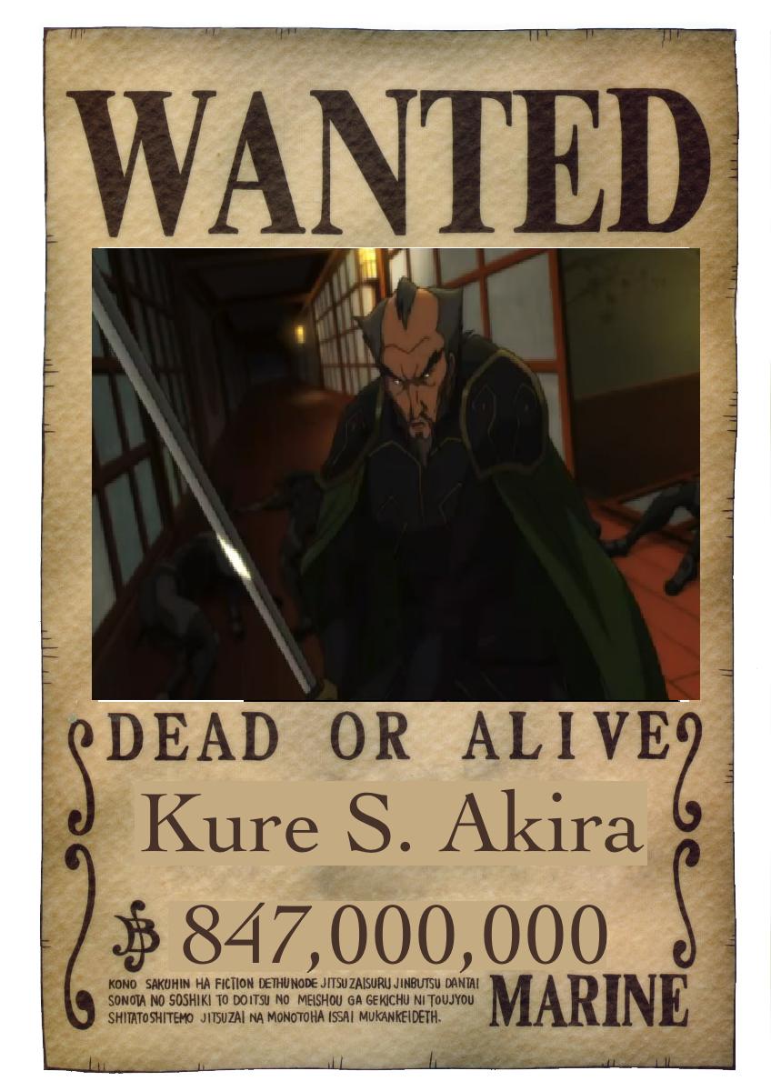 kure s akira onepiece fanon wiki fandom powered by wikia