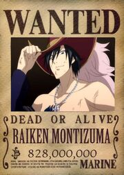Raiken Wanted Poster