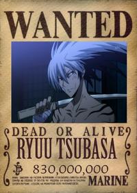 Ryuu Wanted Poster