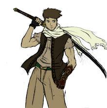 Mercenary swordsman by wuglord