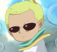 Donquixote Doflamingo at Age 8 (Celestial Dragon)