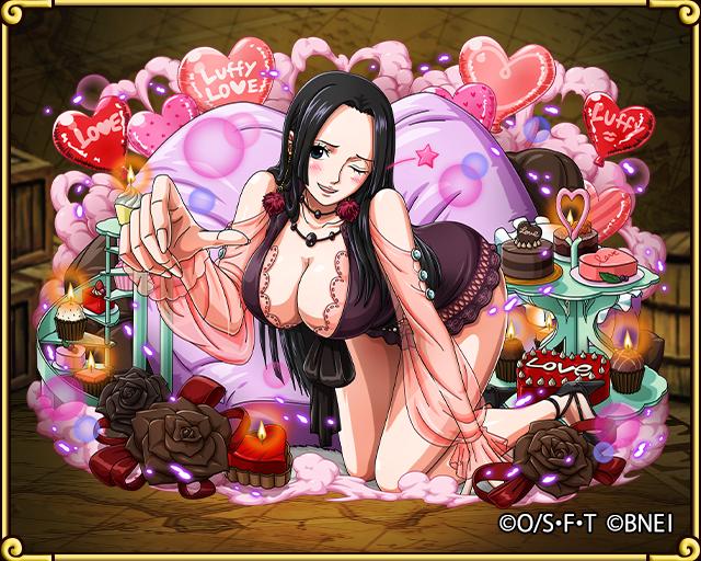 Boa Hancock You Re My Valentine One Piece Treasure Cruise Wiki