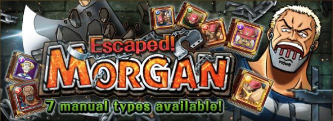 Escaped Morgan