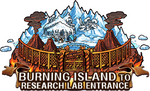Burning Island to Research Lab Entrance
