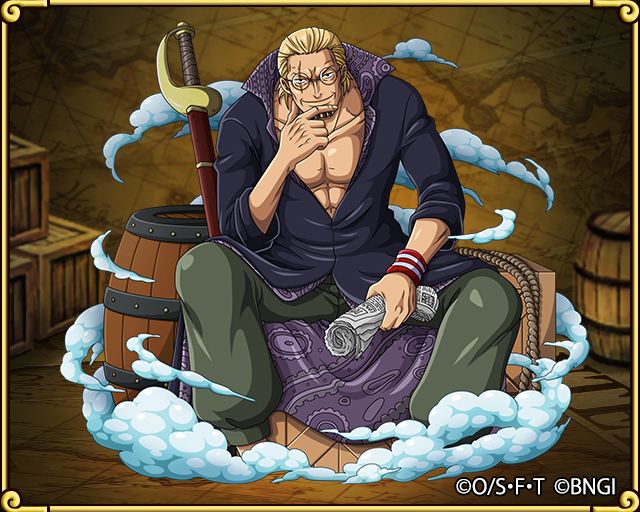 silvers rayleigh first mate of the roger pirates one piece