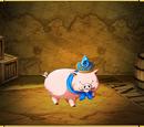 Blue Jeweled Porc