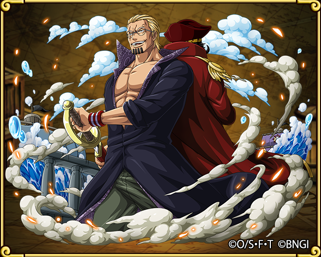 dark king rayleigh first mate of the roger pirates one piece