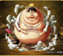 Monkey D. Luffy I Can't Eat Any More