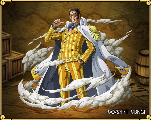 kizaru emissary from the sacred land one piece treasure cruise