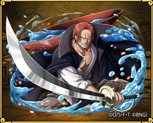 Red haired shanks red hair pirates leader one piece - One piece shanks 2 ans plus tard ...